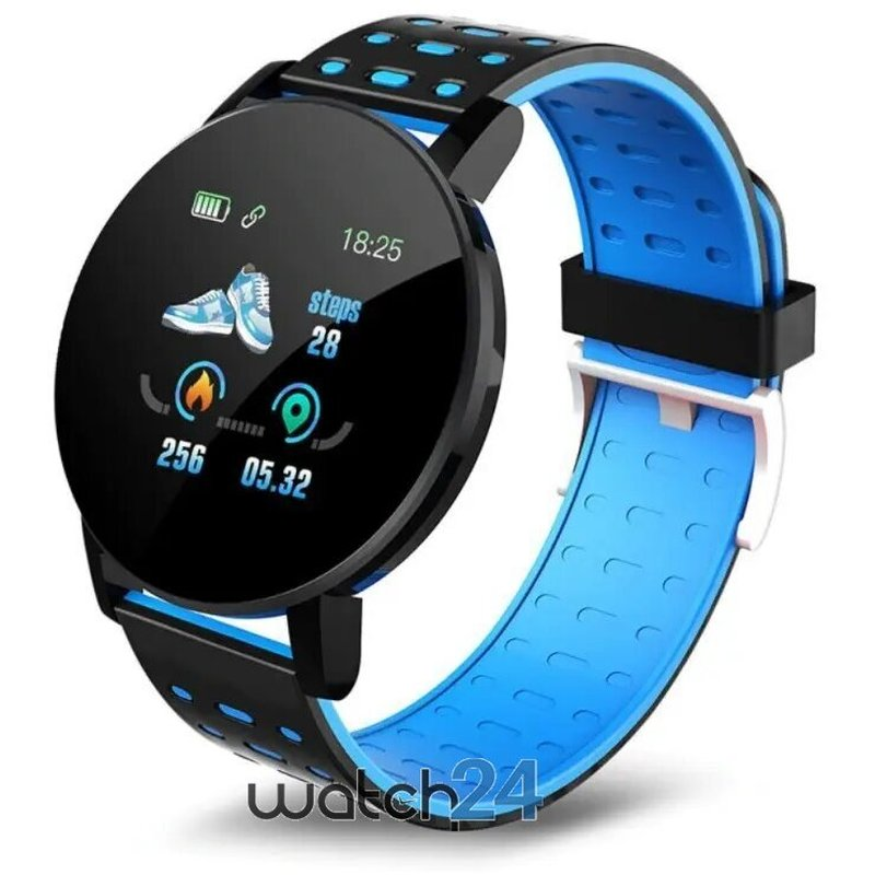 Smartwatch Generic cu Bluetooth, monitorizare ritm cardiac, notificari, functii fitness S172